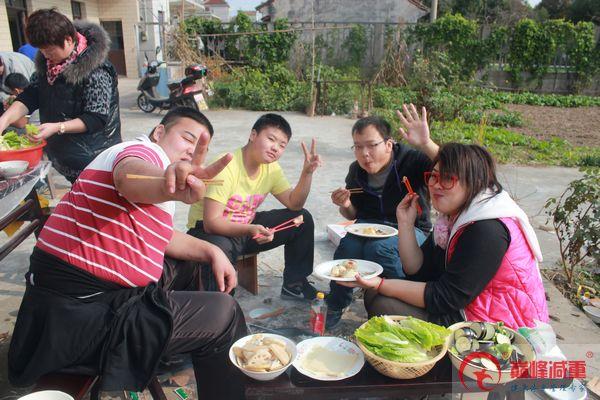 游记:崇明岛自助烧烤和桔园采摘